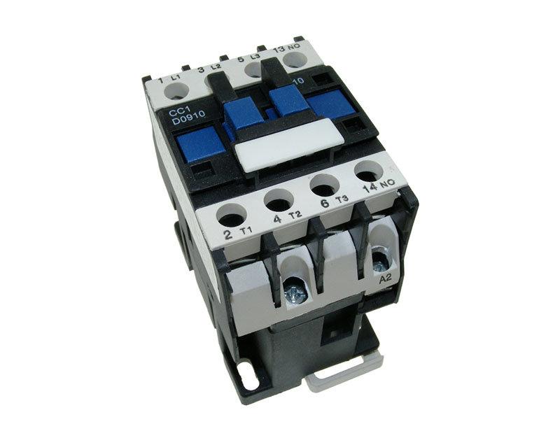 AC contactor 3P + NC 9A 24 Vac coil - Buy Online - EC